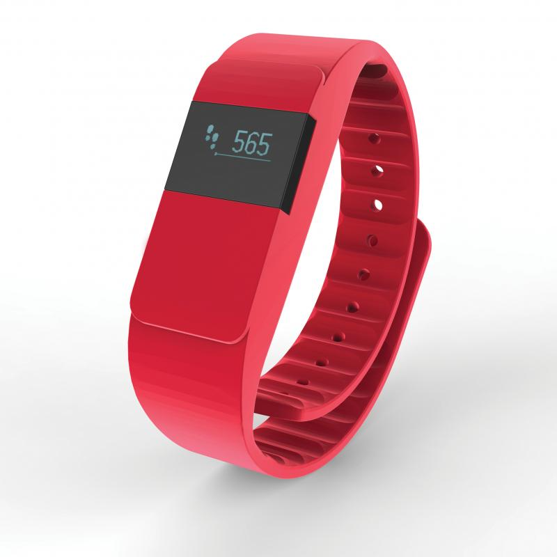 promotional activity tracker keep fit tracker red activity