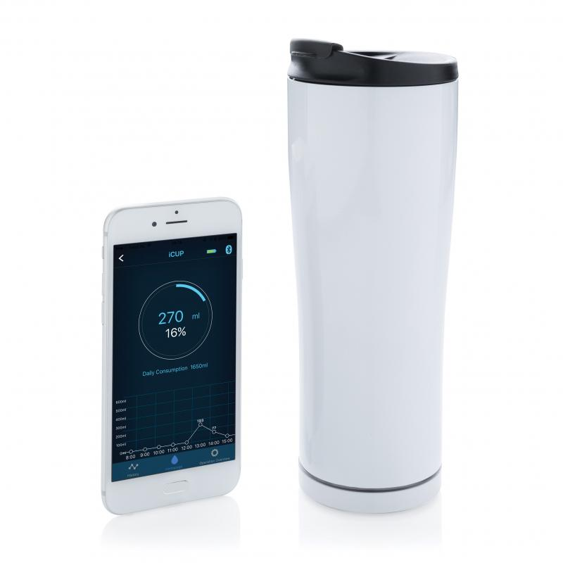 Promotional Smart Cup With Bluetooth App That Monitors Your Water Intake ::  Smart phone accessories :: PromoBrand Promotional Merchandise Swag London  UK :: Promotional Branded Merchandise Promotional Branded Products l  Promotional Items
