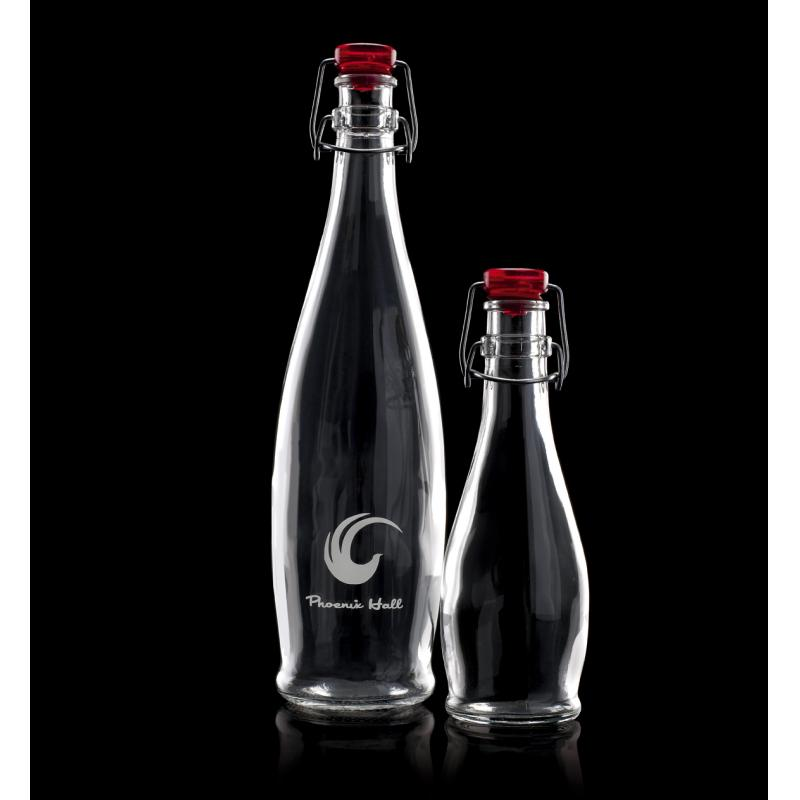 Corporate Branded Glass Water Bottles
