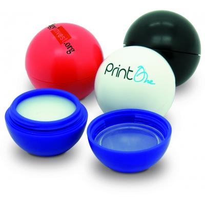 Image of Branded Lip Balm Ball. Low Cost Promotional Item