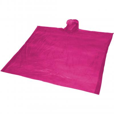 Image of Promotional Disposable rain Poncho With Pouch