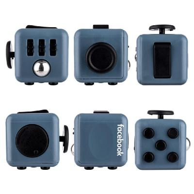 Image of Printed Fidget Cube. Branded Stress Relief Toy Cubes