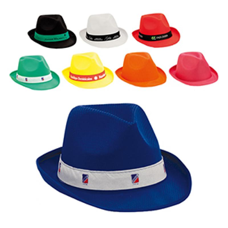 Promotional Trilby Hat. Branded Fun Summer Hat    Summer Promotions ... 6cd34dd59e69