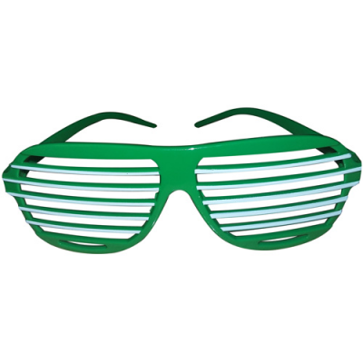 Image of Promotional Shutter Style Sunglasses. Pantone Matched