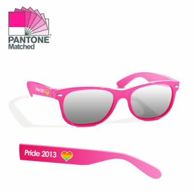 Image of Full Colour Printed Sunglasses. Pantone Matching Available
