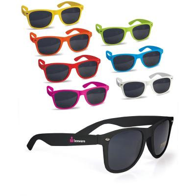 Image of Branded Retro Sunglasses. Cheap Promotional Sunglasses