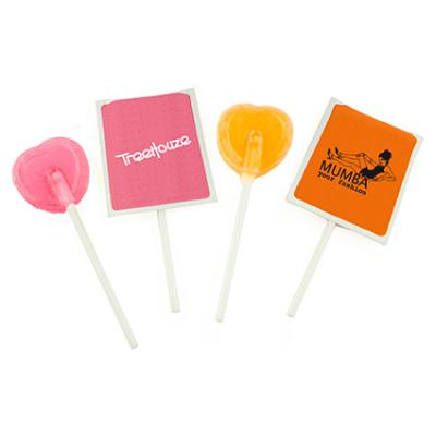 Image of Promotional Lollipop In Envelope Printed To Both Sides