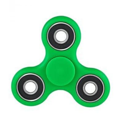 Image of Full Colour Printed Fidget Spinner. GREEN. Promotional Stress Relief Toy