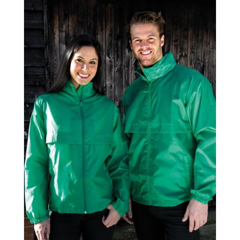 Printed Windcheater- Men's And Women's Windcheater Lightweight Water  Repellent (Result Core) Colours: black, navy, purple, red, bottle green,  royal blue, ...