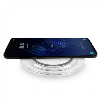 Image of Full Colour Printed Smart Wireless Crystal Mobile Phone Charger