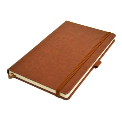 Image of Embossed Infusion A5 Notebook, Build Your Own Notebook, Chestnut Brown