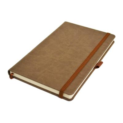 Image of Branded Infusion A5 Notebook, Build Your Own Notebook, Taupe Brown