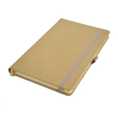 Image of Embossed Infusion A5 Notebook, Build Your Own Notebook, Beige.