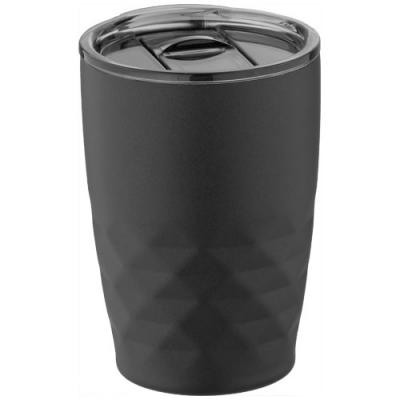 Image of Promotional Geo Insulated Copper Travel Mug, Black