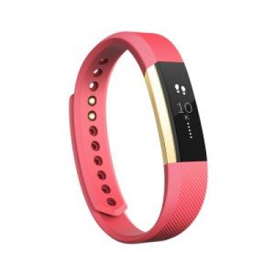 Image of Promotional Fitbit ALTA Fitness Wristband -pink & gold.
