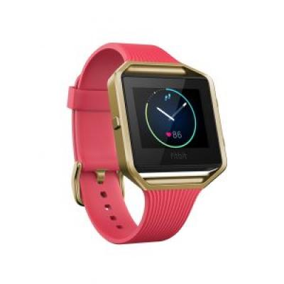 Image of Promotional Fitbit BLAZE Smart Fitness Watch – Pink/gold.