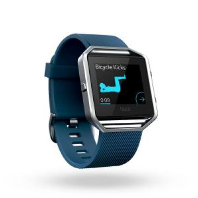 Image of Promotional Fitbit BLAZE Smart Fitness Watch, Branded Fitbit Activity Tracker, Blue