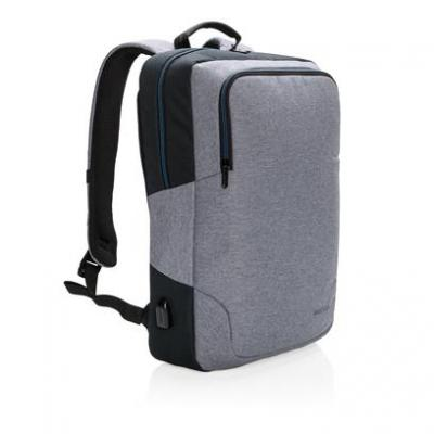 Image of Branded  Arata 15″ Laptop Backpack With Integrated USB Port