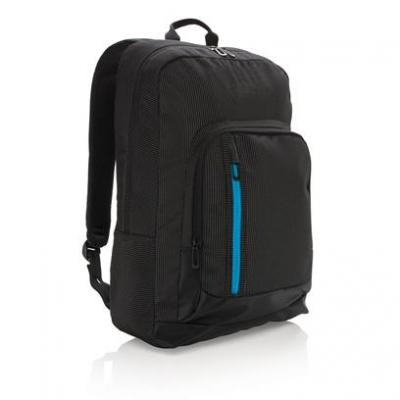 Image of Embroidered Elite USB Rechargeable Laptop Backpack.