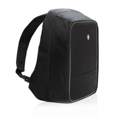 Image of Embroidered Swiss Peak Anti-Theft Laptop Backpack With USB Port