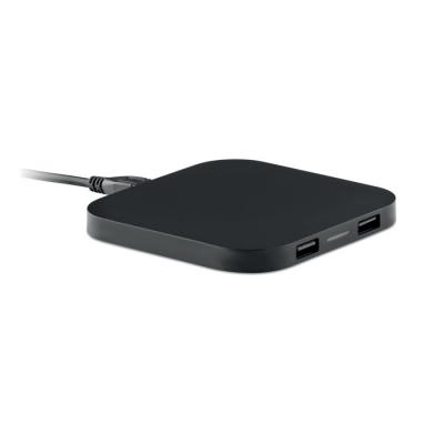 Image of Promotional Wireless Phone Charging Pad With 2 hubs