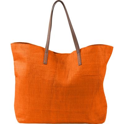 Image of Promotional Bright Coloured Beach Bag Orange