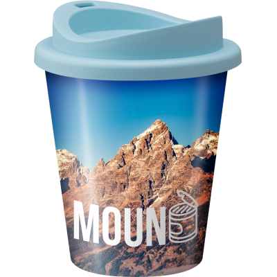 Image of Full colour printed Vending style reusable coffee cup with lid