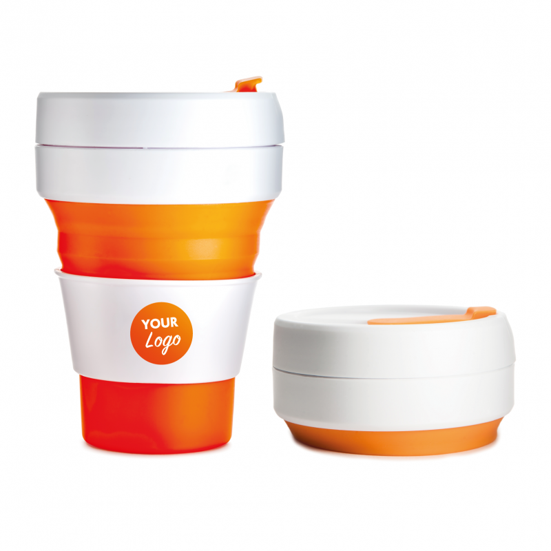 The Stojo The Collapsible Reusable Pocket Cup In 6 Colours