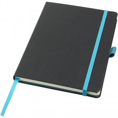 Image of Promotional Melya A5 notebook with hard cover and plain paper