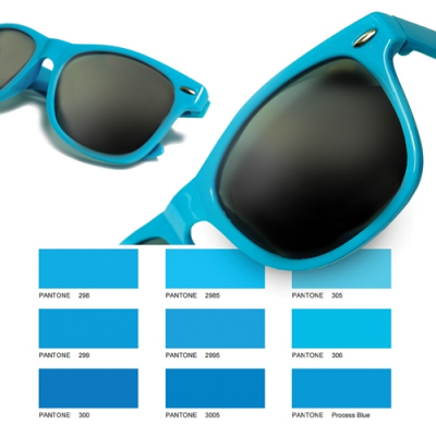 Image of Pantone Matched Suglasses With All Over Print Frame
