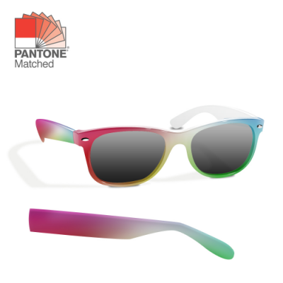 Image of Promotional Sunglasses Pantoned Matched and With Full Colour Print