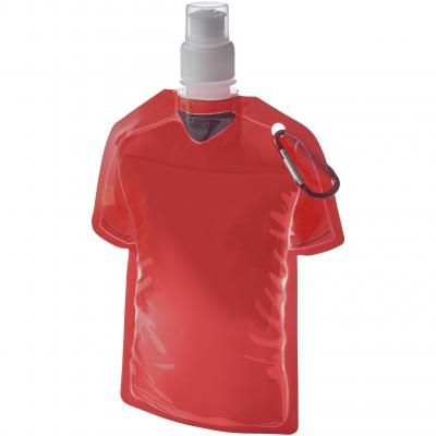 Image of Promotional Football Shirt Shaped Water Bottle. Ideal for Football World Cup 2018