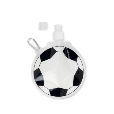Image of Promotional Football shaped foldable Water Bottle. ideal for World Cup 2018