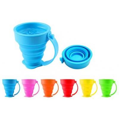 Image of Promotional Silicone Foldable Cup. Reusable Eco Cup