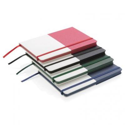 Image of Promotional A5 double layered PU Notebook