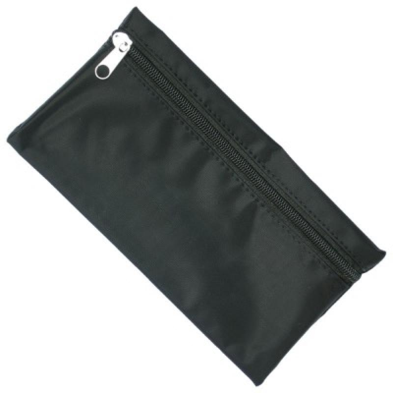 66fe6a11a9f752 Nylon Pencil Case - Black (Black Zip) :: Pencil Cases :: PromoBrand ...