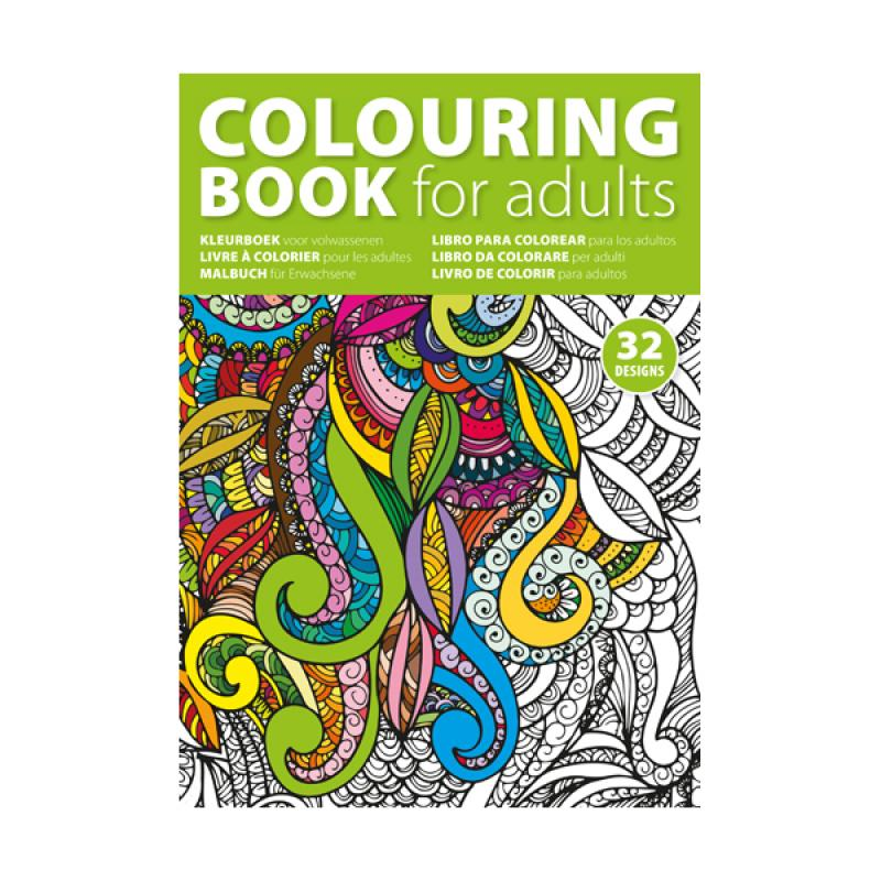 A4 Adults Colouring Book