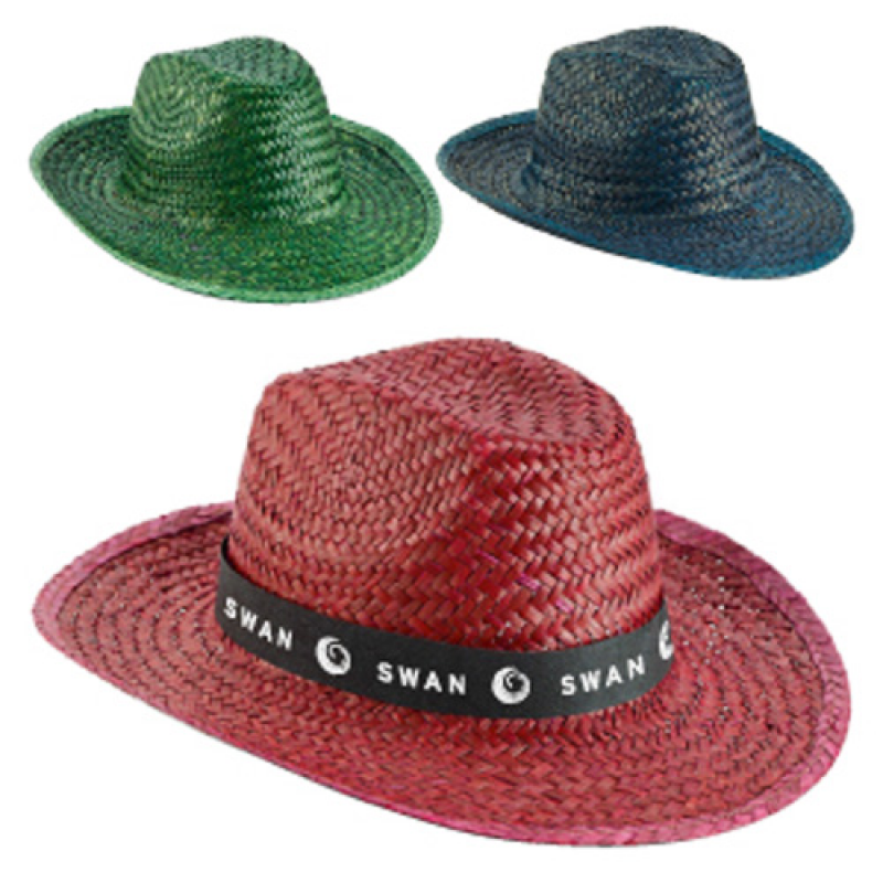 Coloured Straw Sun Hat    Hats    PromoBrand Promotional Merchandise ... 48af573b761a