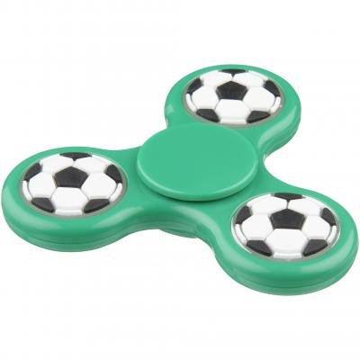 Image of Branded  Fun Tri-Twist™ Football Fidget Spinner, Ideal For World Cup 2018