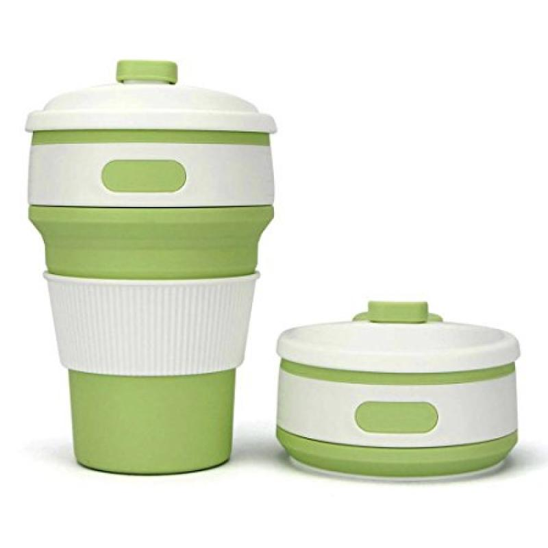 promotional collapsible coffee cup reusable 350ml bpa. Black Bedroom Furniture Sets. Home Design Ideas