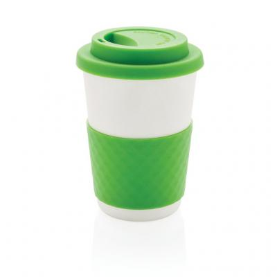 Image of Promotional ECO Bamboo Fibre Coffee Cup, Takeaway Coffee Cup