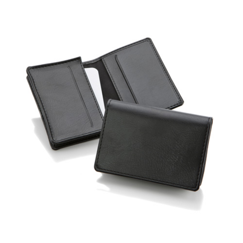 Business card case all leather and pu goods promobrand business card case reheart Image collections