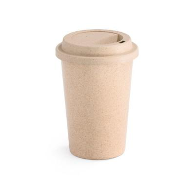Image of Promotional Natural Bamboo Takeaway Cup, 450ml