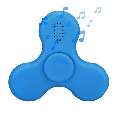 Image of Promotional Fidget Spinner With Bluetooth Speaker And Flashing Lights