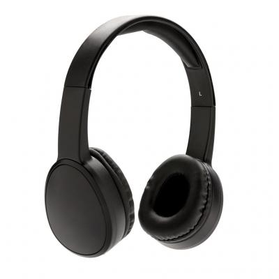 Image of Branded Fusion Wireless Headphones, Black