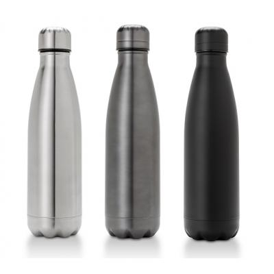 Image of Promotional Oasis Double Walled Thermos Bottle, Satin Finish Stainless Steel