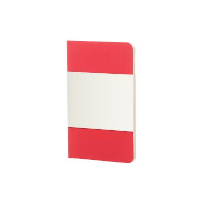 Image of Branded Moleskine Volant Pocket Notebook A6 Geranium Red
