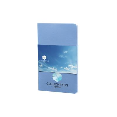 Image of Printed Moleskine Volant Pocket Notebook A6 Powder Blue