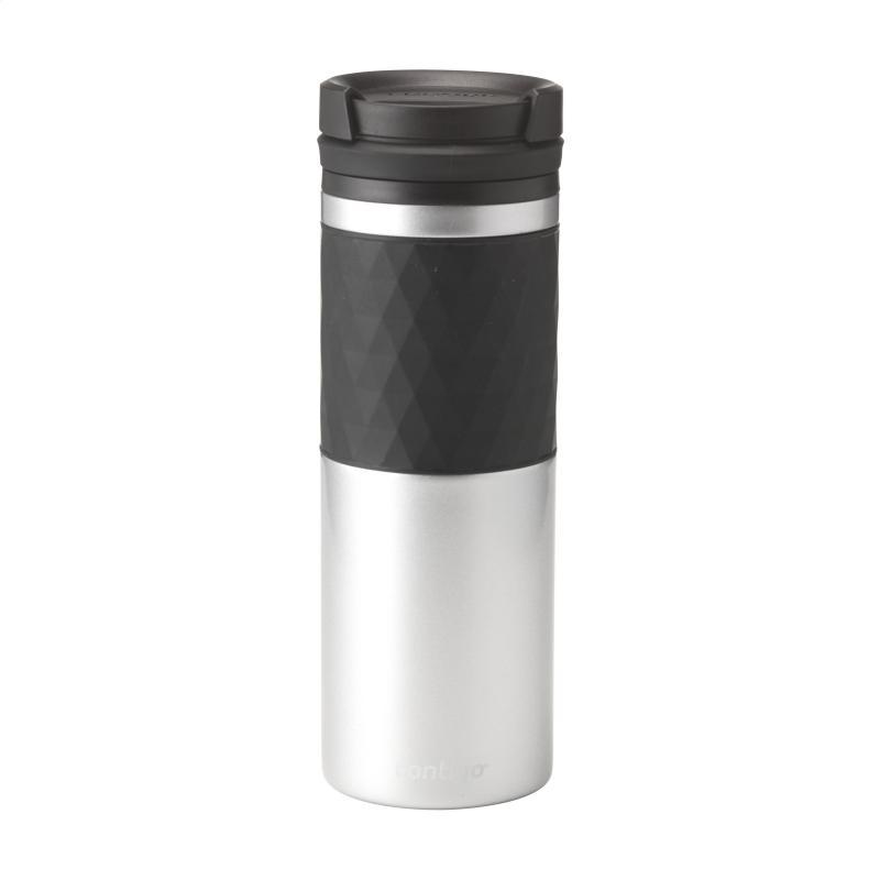 Contigo Pinnacle AutoSeal Travel Mug Hot//Cold Vacuum Insulated Flask 300ml Red
