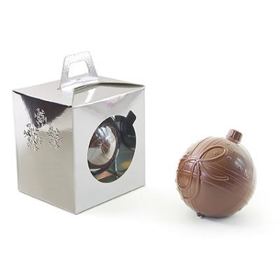 Image of Branded Christmas Chocolate Bauble, Presented In Full Colour Printed Gift Box